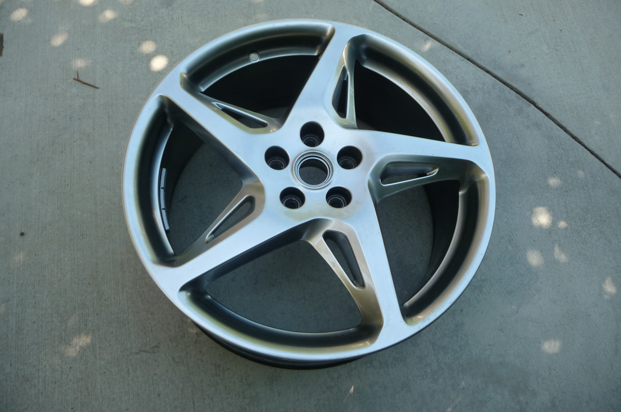 "Ferrari 458 Italia Front 20"" Fuso Rim Wheel BBSRD480 Chrome Painted 262892 OEM"