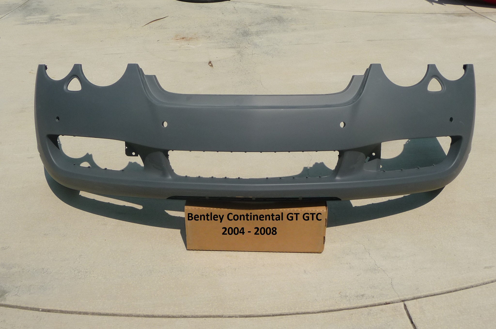 Bentley Continental GT GTC Coupe Convertible Front Bumper Cover 3W8807221 - Used Auto Parts Store | LA Global Parts