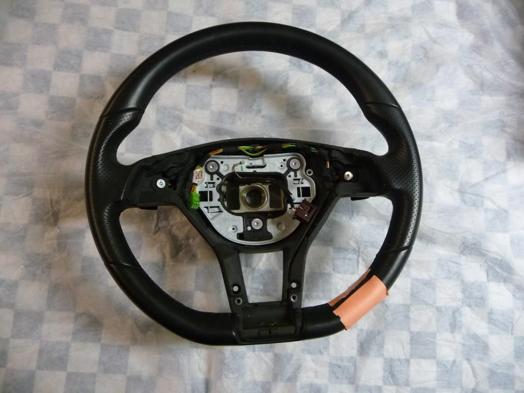 Mercedes Benz C E Class CLS Multifunctional Steering Wheel Black A 1724602803