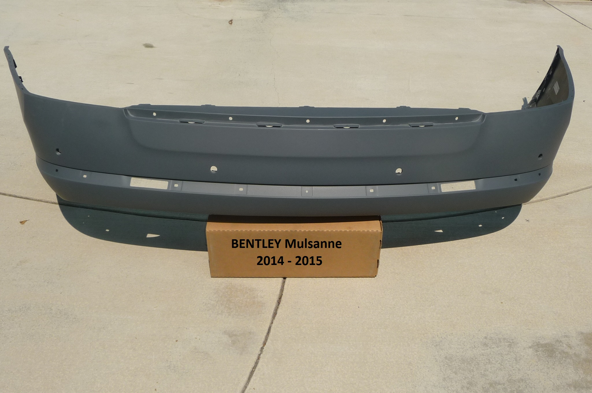 "2011 2012 2013 2014 2015 2016 Bentley Mulsanne Rear Bumper Cover ""Remaufactured"" 3Y0807421 OEM OE"