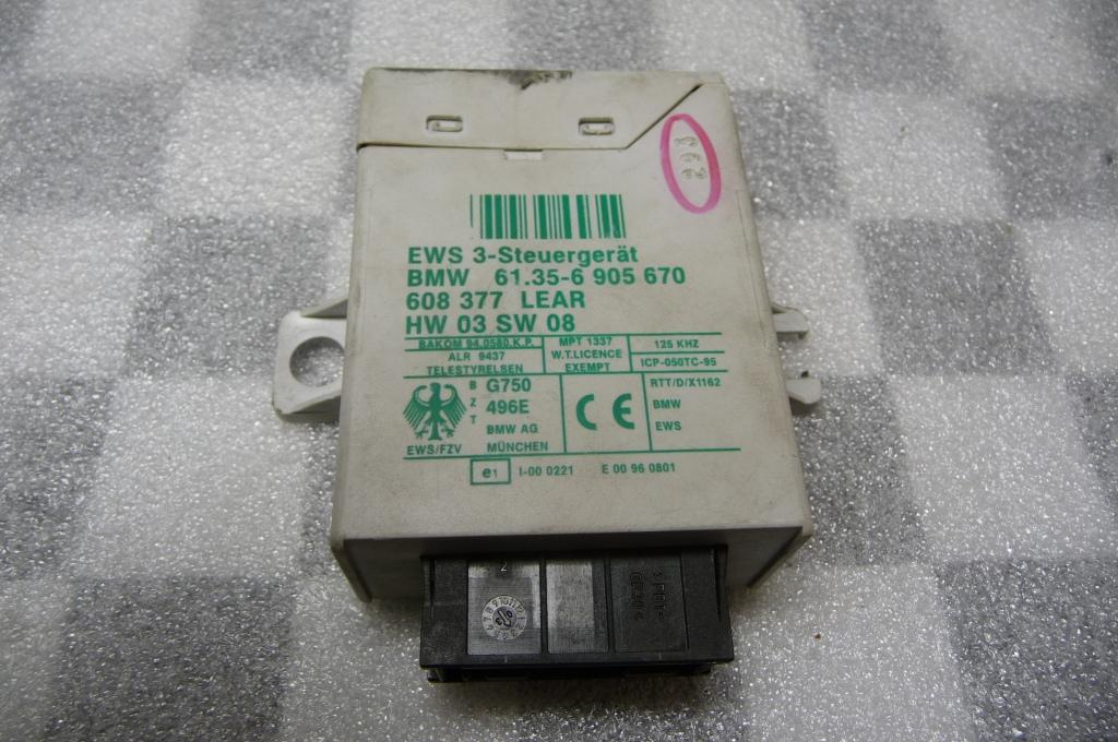 BMW 3 5 7 Series X3 X5  Z4 Z8 EWS III Control Unit 61356905841 OEM OE