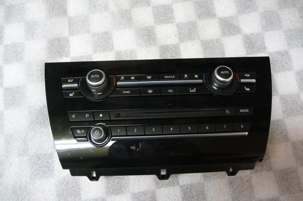 2014 2015 2016 2017 2018 BMW F15 F85 F16 F86 X5 X6 Radio Climate Control Switch Panel 64119356373 ; 64119388808 OEM OE