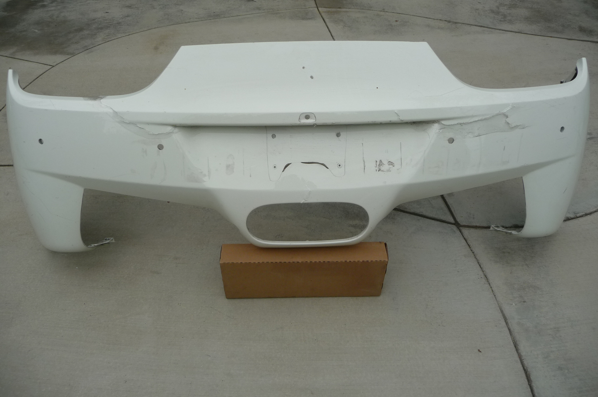 Ferrari 458 Italia Challenge Rear Bumper 83327510 with PDC for Parts OEM OE - Used Auto Parts Store | LA Global Parts