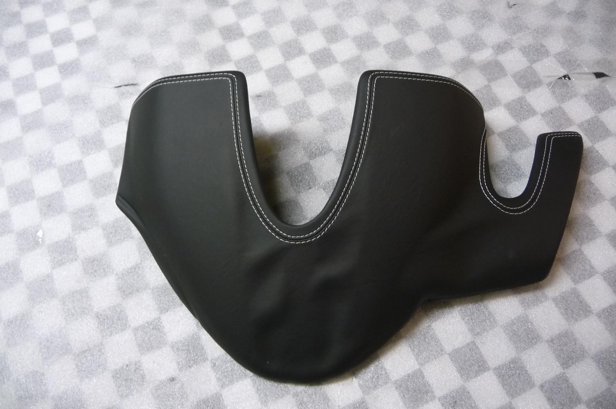 "Ferrari 458 Italia Spider Complete Binnacle Cover ""Leather"" 825107 082879400 OEM"