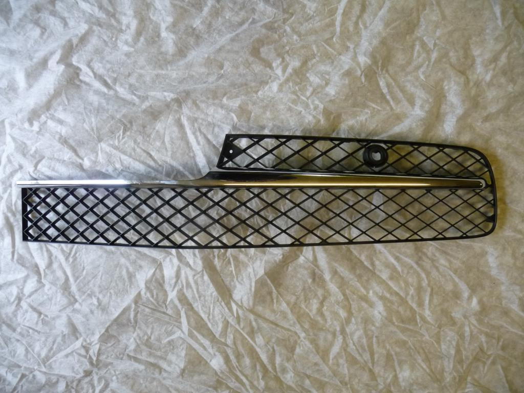 2013 2014 2015 2016 Bentley Flying Spur Sedan 4 Door Front Grille Grill Black / Chrome Left 4W0807647D - Used Auto Parts Store | LA Global Parts