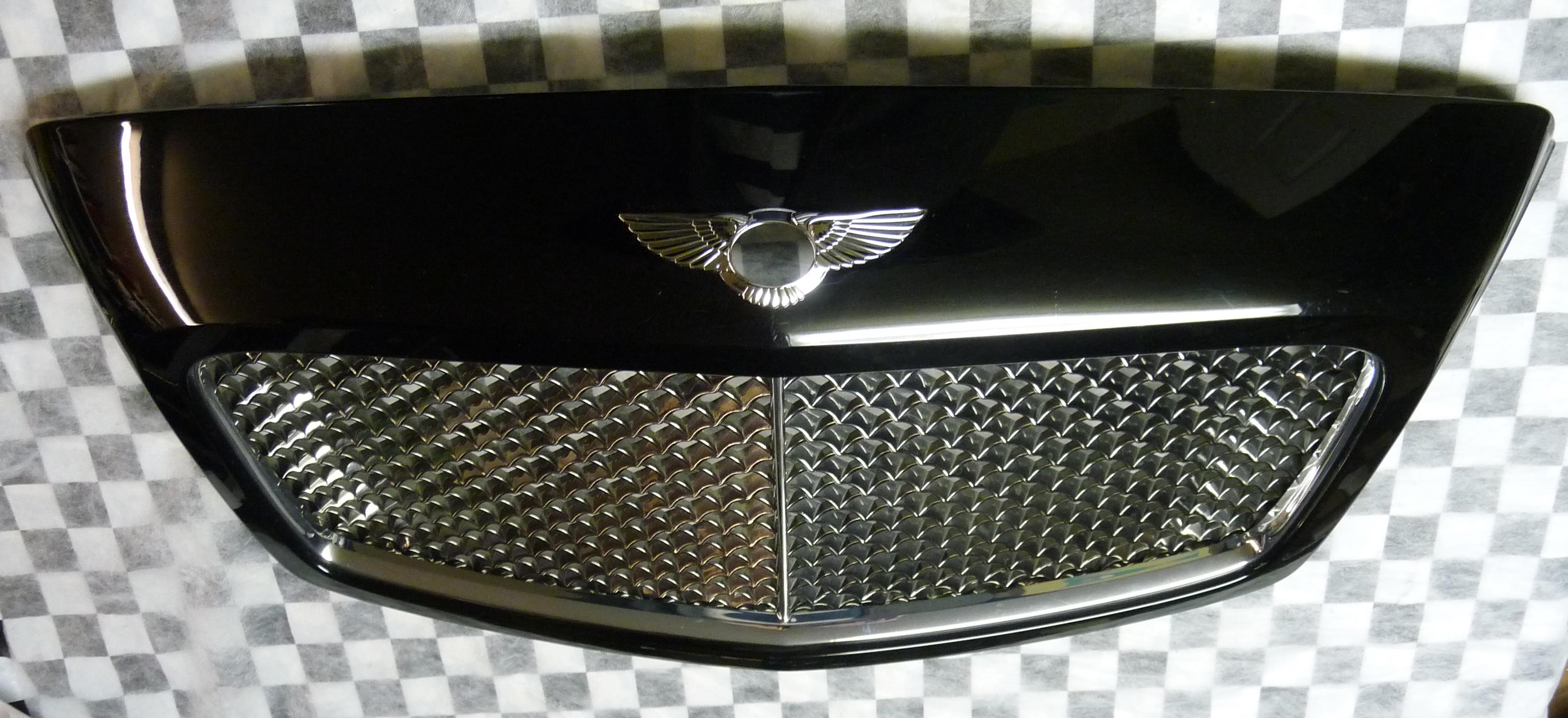 2009-2011 Bentley Continental GT GTC Front Grille Grill 3W0853653F OEM OE
