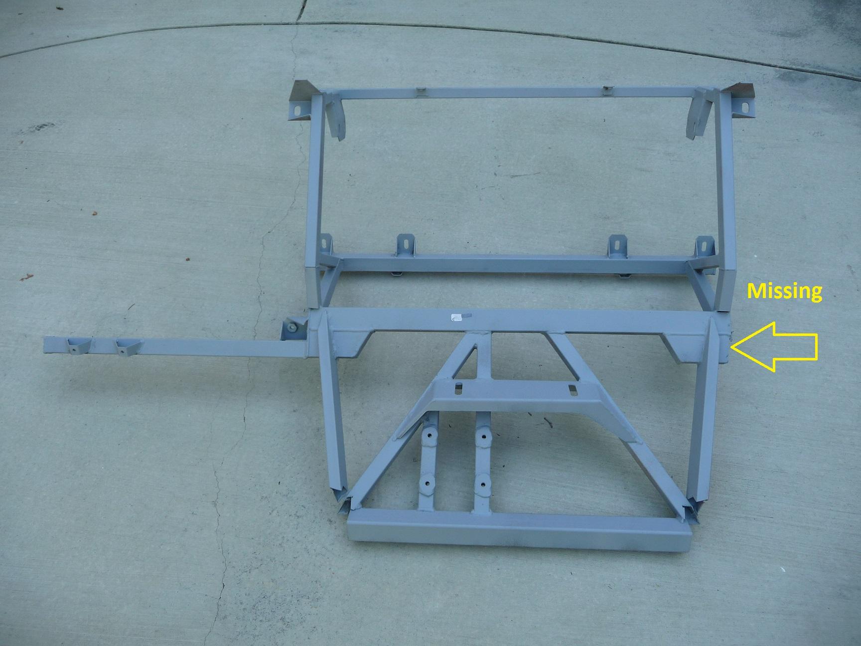 Lamborghini Murcielago Rear End Crossmember Frame 410814291 OEM OE