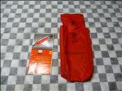 Ferrari 458 599 F430 FF California Bag for conditioner and handbook 80565700 OEM