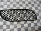 Bentley Continental GT GTC Front Bumper Right Grille Black Plastic  3W8807682A - Used Auto Parts Store | LA Global Parts