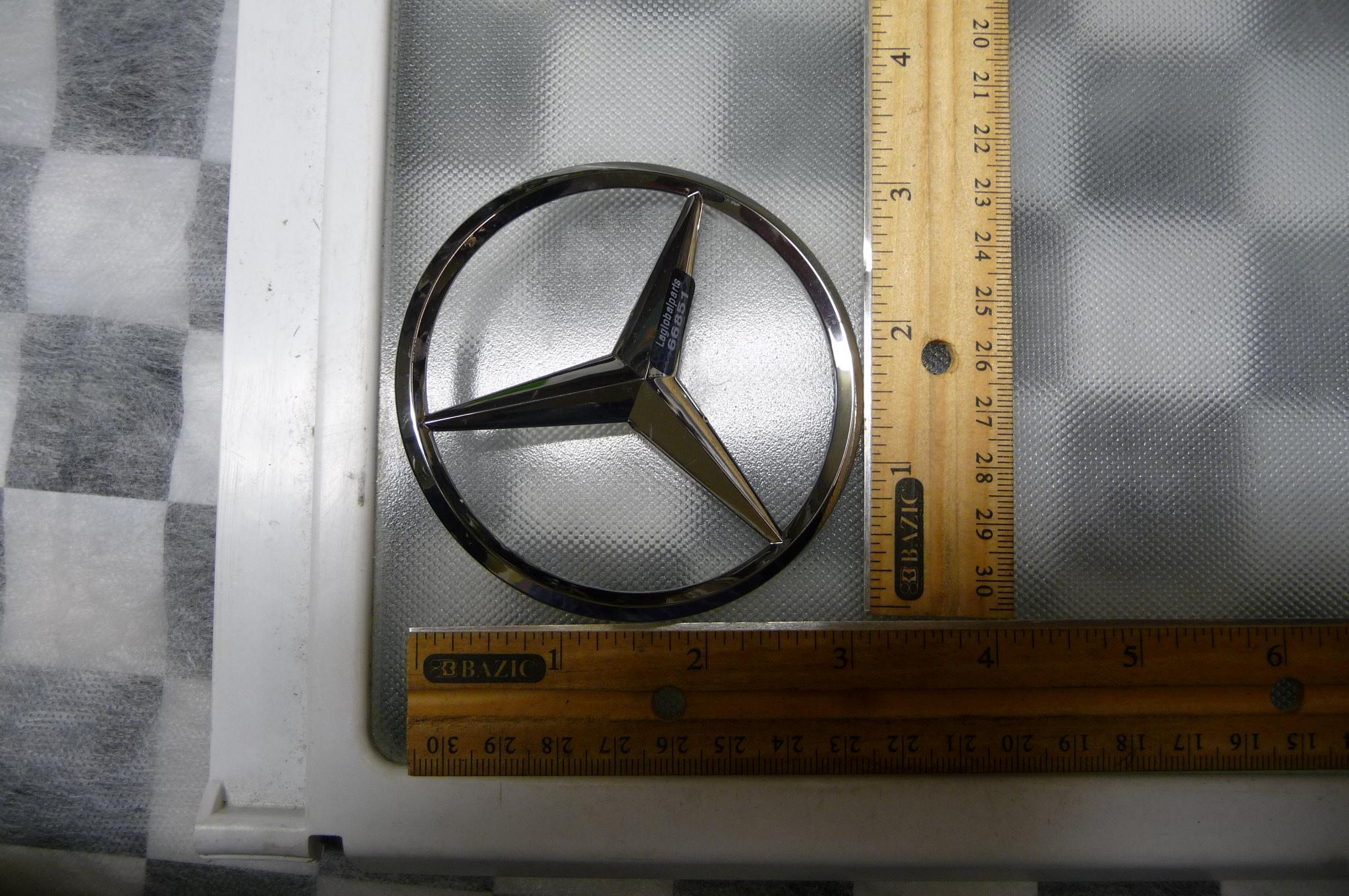 Mercedes Benz W205 C Class Trunk Lid Emblem Badge Nameplate 2058174500 OEM