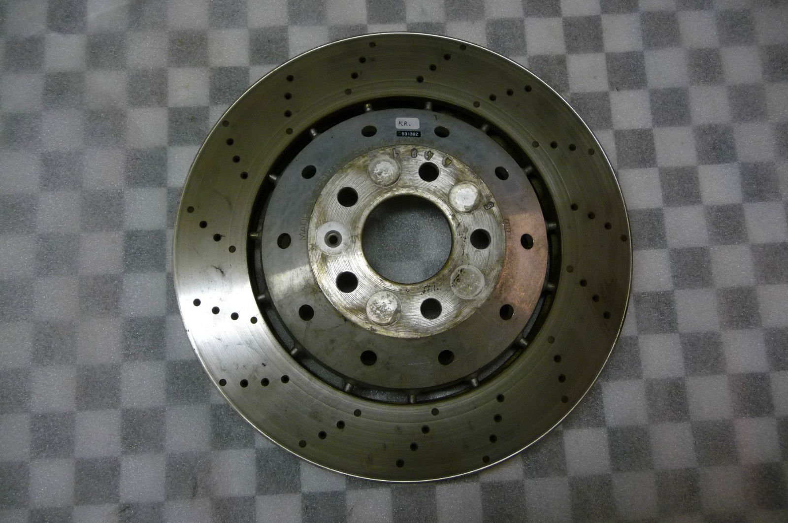Lamborghini Gallardo LP560 Front Brake Disk 420615301B; 420615601C - Used Auto Parts Store | LA Global Parts