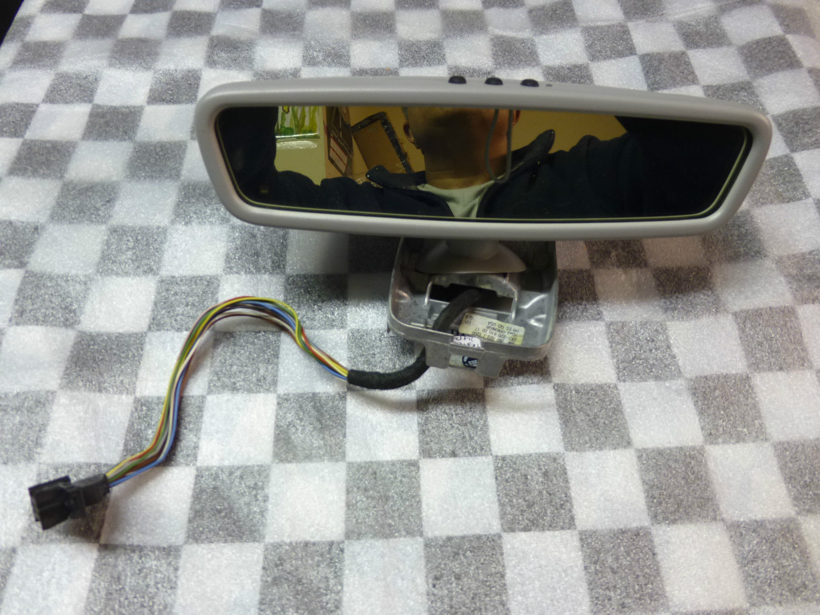 Mercedes Benz CL500 S55 AMG Inside Rear view Mirror A 2208102817 2208100217 OEM