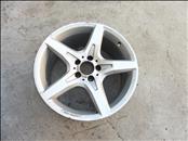 """Mercedes Benz W172 SLK 18"""" Rear AMG Silver Wheel Rim A1724012702 OEM"""