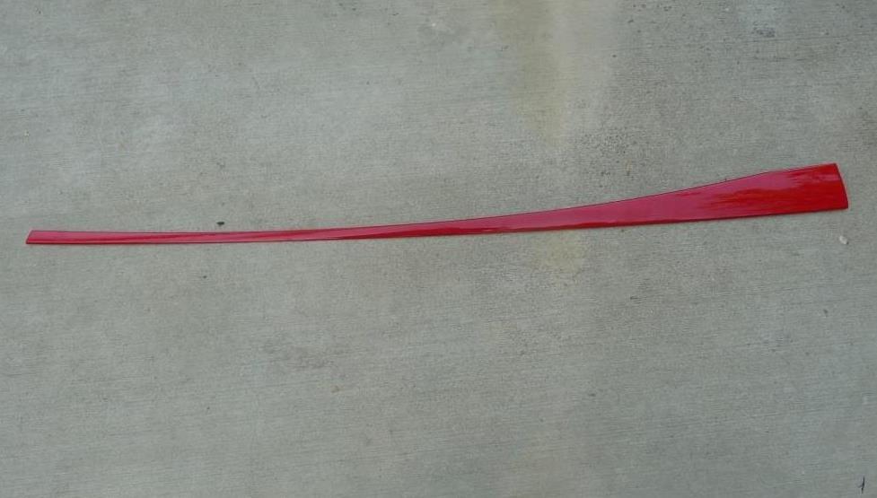Audi R8 Front Right Door Belt Window Sweep Moulding weatherstrip 427853268C