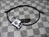 BMW 5 6 7 Series E60 E61 E63 E64 F01 F02 Hood Latch Control 51237183765 OEM OE