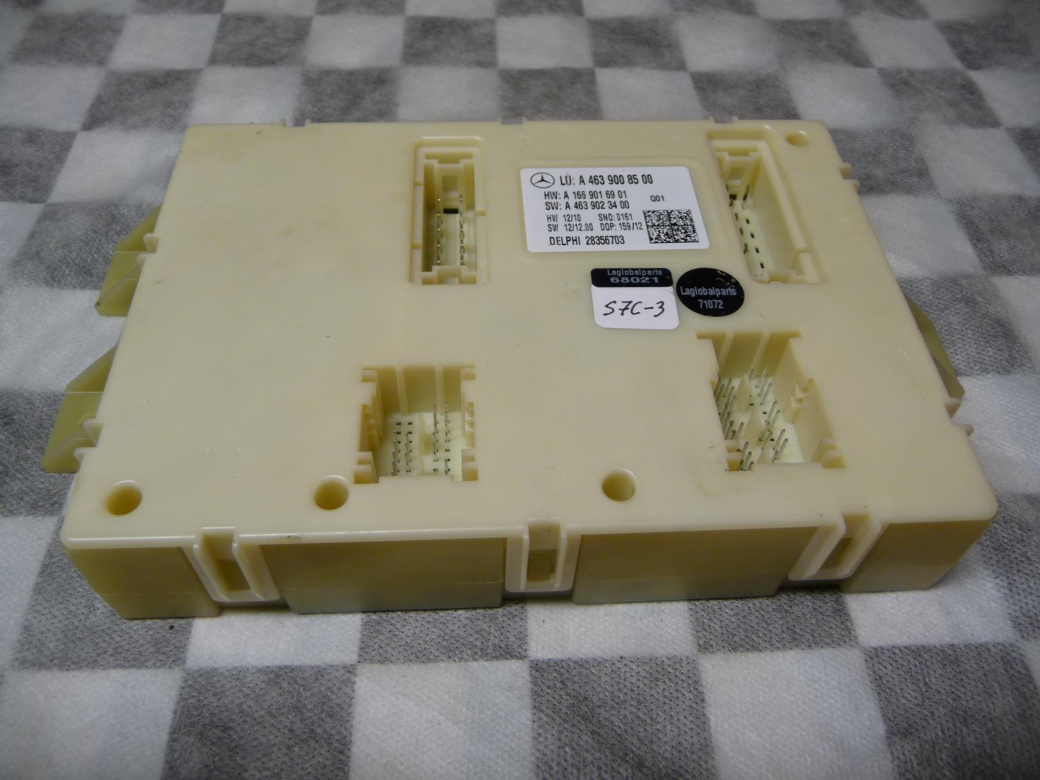 Mercedes Benz GL350 GL450 GL550 SAM Control Module A4639008500 OEM OE