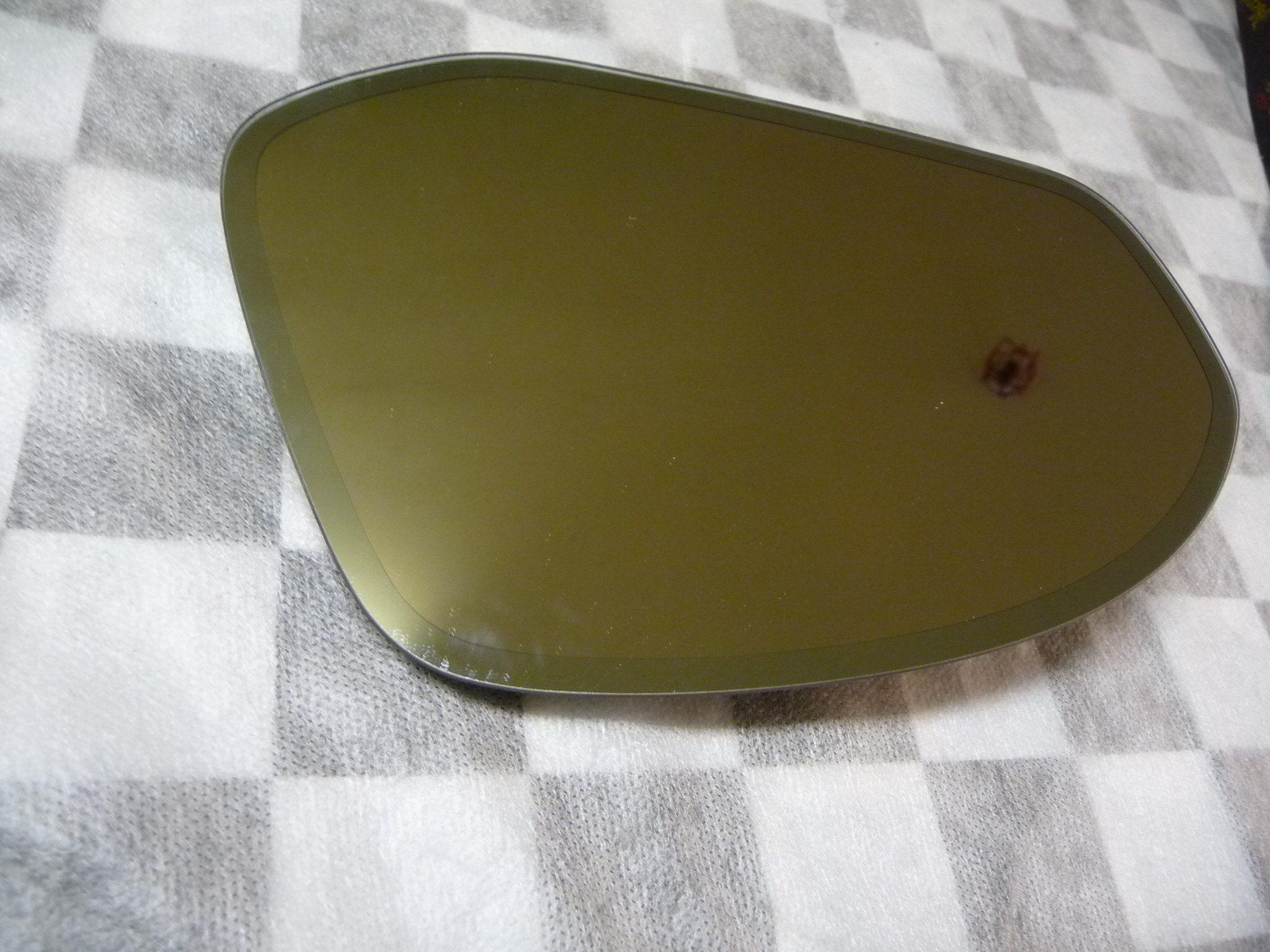 Bentley Continental GT GTC Flying Spur Left Driver Rearview Mirror Glass 3Y0857521G OE