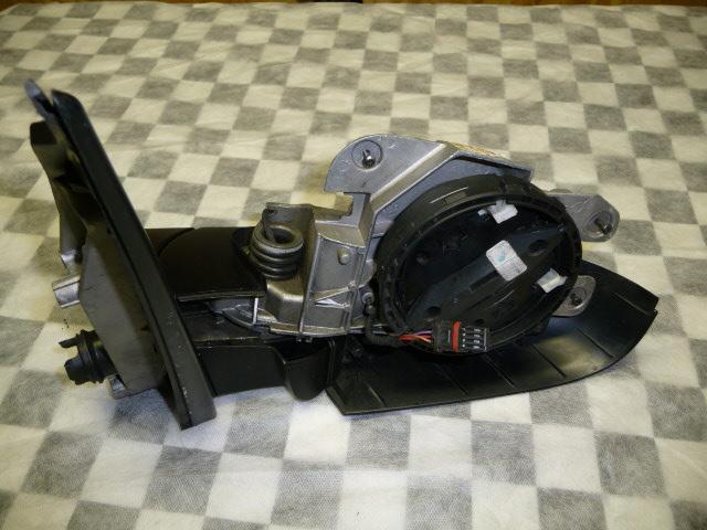 10-13 BMW X5 E70 Left Driver Mirror Gray Black 7136887, 7181175 OEM OE