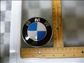 BMW 5 6 Series M5 M6 Z4 Front Badge Logo Emblem Sign D=82 MM 51147057794 OEM OE