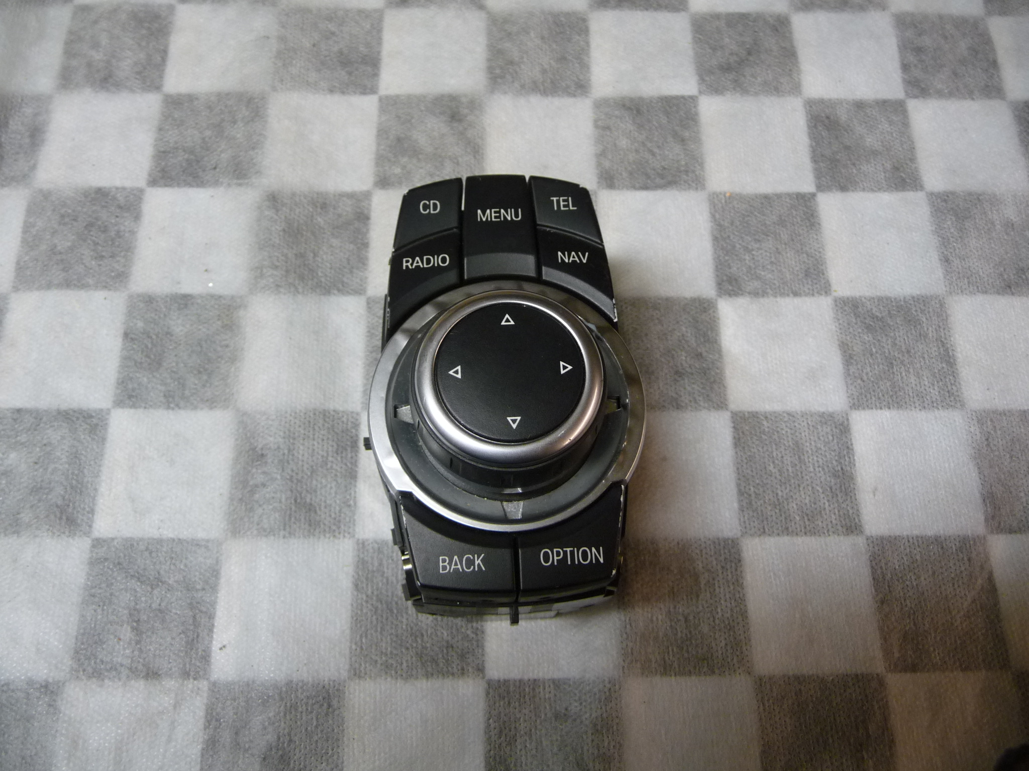 BMW 1 3 5 6 X1 X5 X6 iDrive Central Console Controller Joystick 65829231116 OEM
