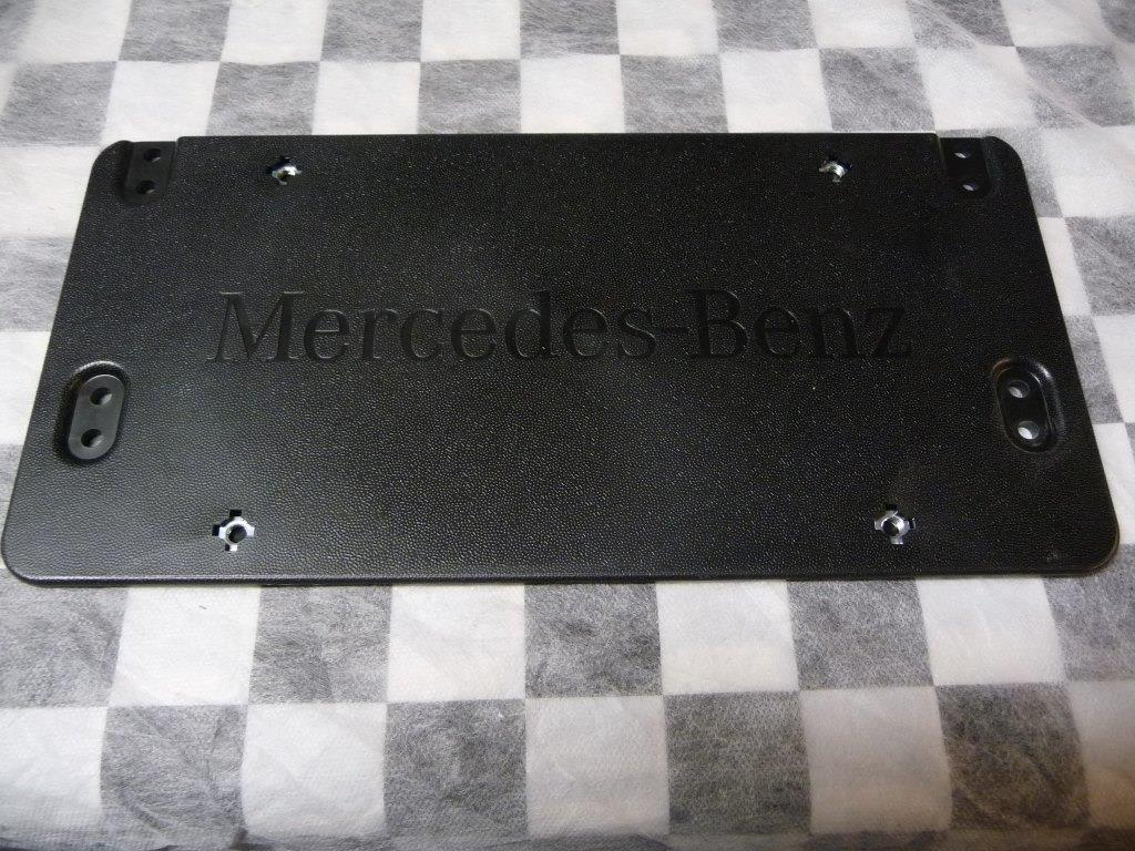 Mercedes Benz CLS E GL ML S Lift Gate License Plate Bracket A0008101711 OEM A1