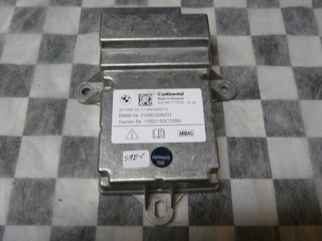 BMW 7 Series 740i 750i Airbag Control Unit 65776803282 OEM A1