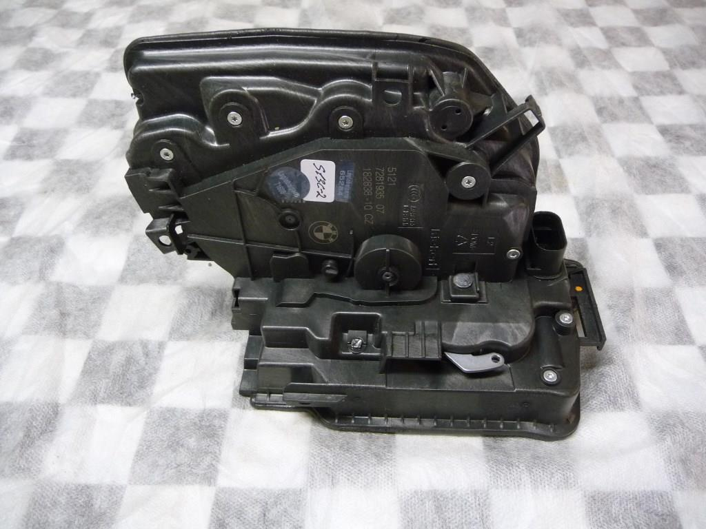 2014 2015 2016 2017 BMW G30 F48 F15 530i 540i i3 X1 X5 Front Left Driver Side Door Locking System Latch 51217281935 OEM A1