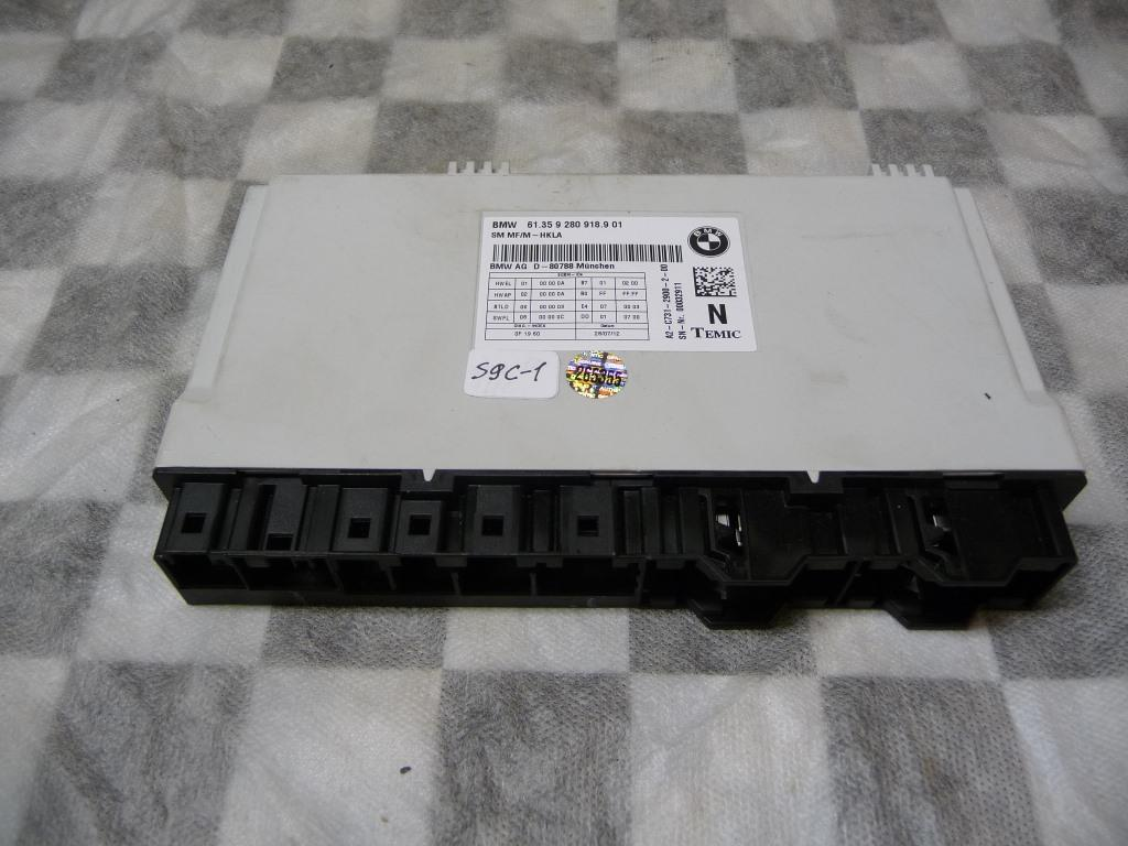 BMW 5 6 7 Series M6 B6X ECU Seat Control Module TEMIC 61359280918 OEM A1