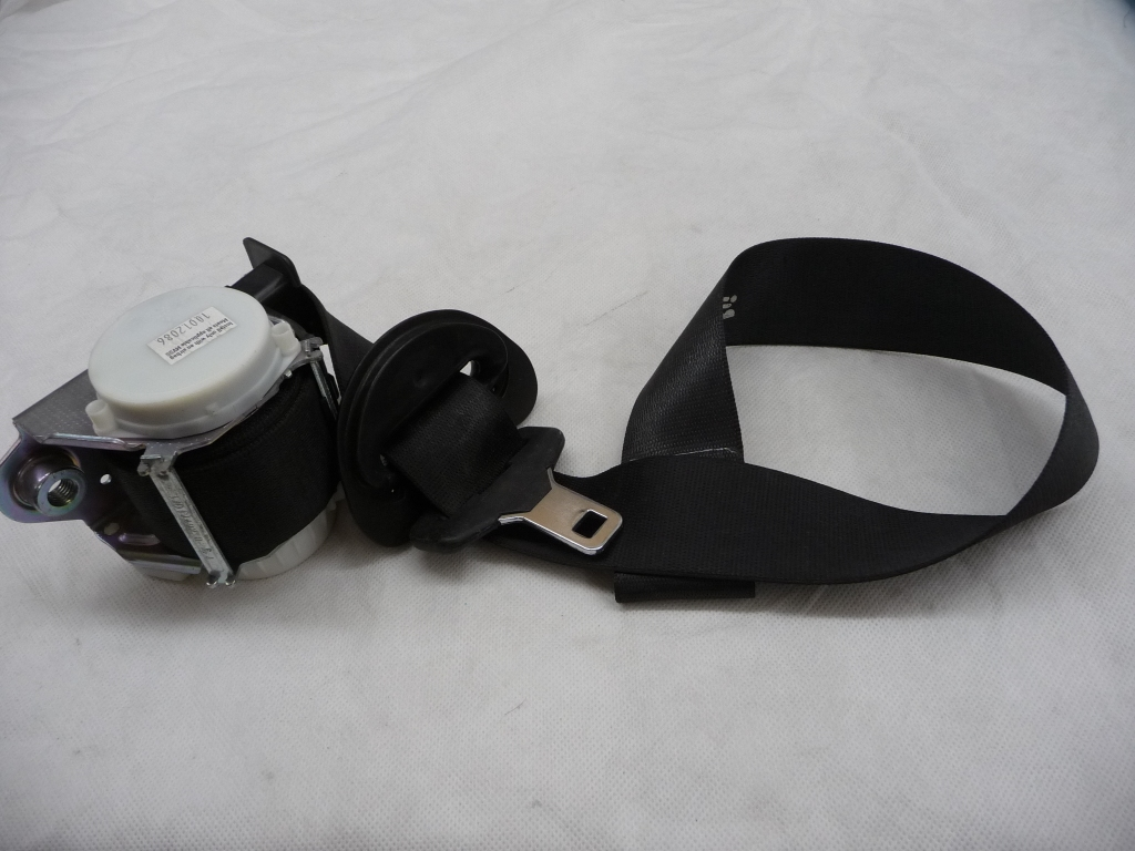 2007 2008 2009 2010 2011 BMW E92 328i 335i Front Right Passenger Side Upper Seat Belt With Force Limiter 72119114284 OEM OE
