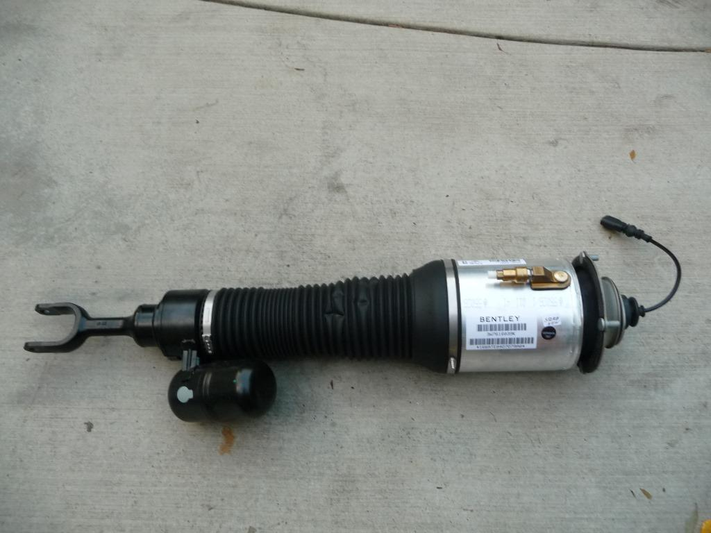 Bentley Continental Front Left Driver Side Air Shock, Strut 3W7616039K - Used Auto Parts Store | LA Global Parts