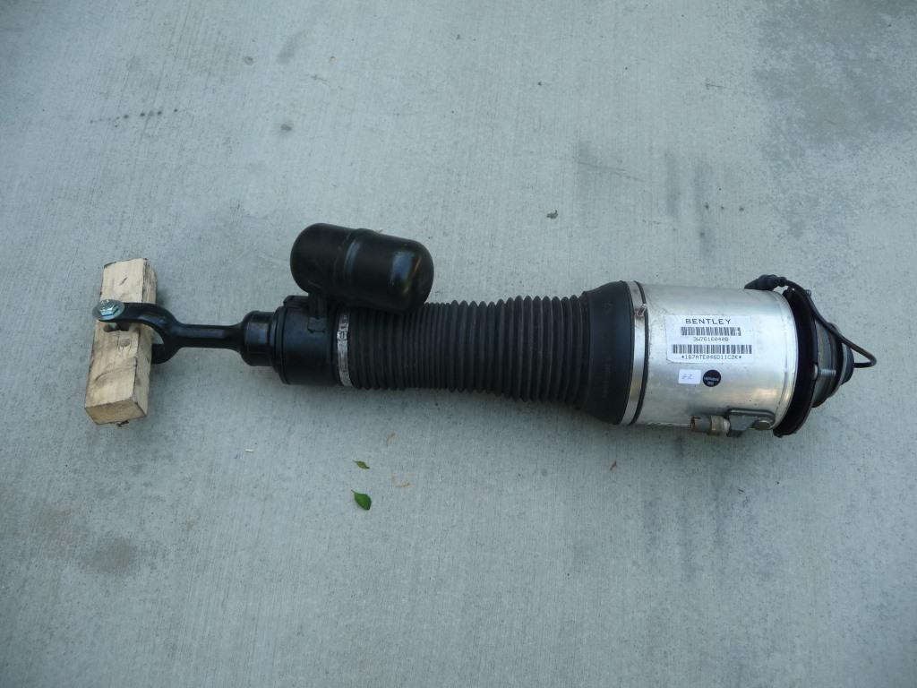 Bentley Continental Front Right Passenger Side Air Shock, Strut 3W7616040K - Used Auto Parts Store | LA Global Parts