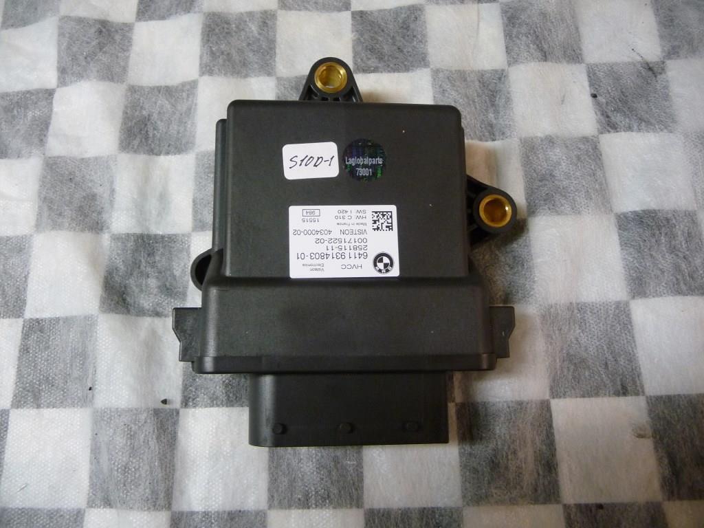 2014 2015 2016 2017 BMW i3 Heat Pump Control Module 64119314803 OEM A1