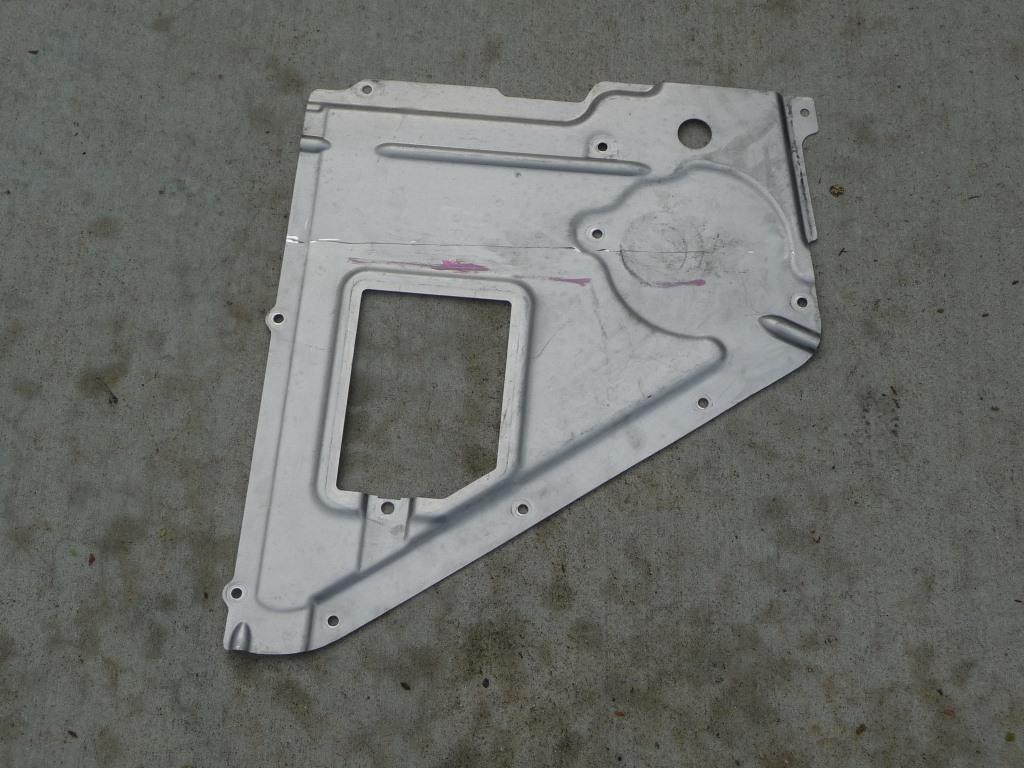 Lamborghini Huracan LP 610-4 Coupe Rear Left Streamline Shroud 4S0825215F OEM A1