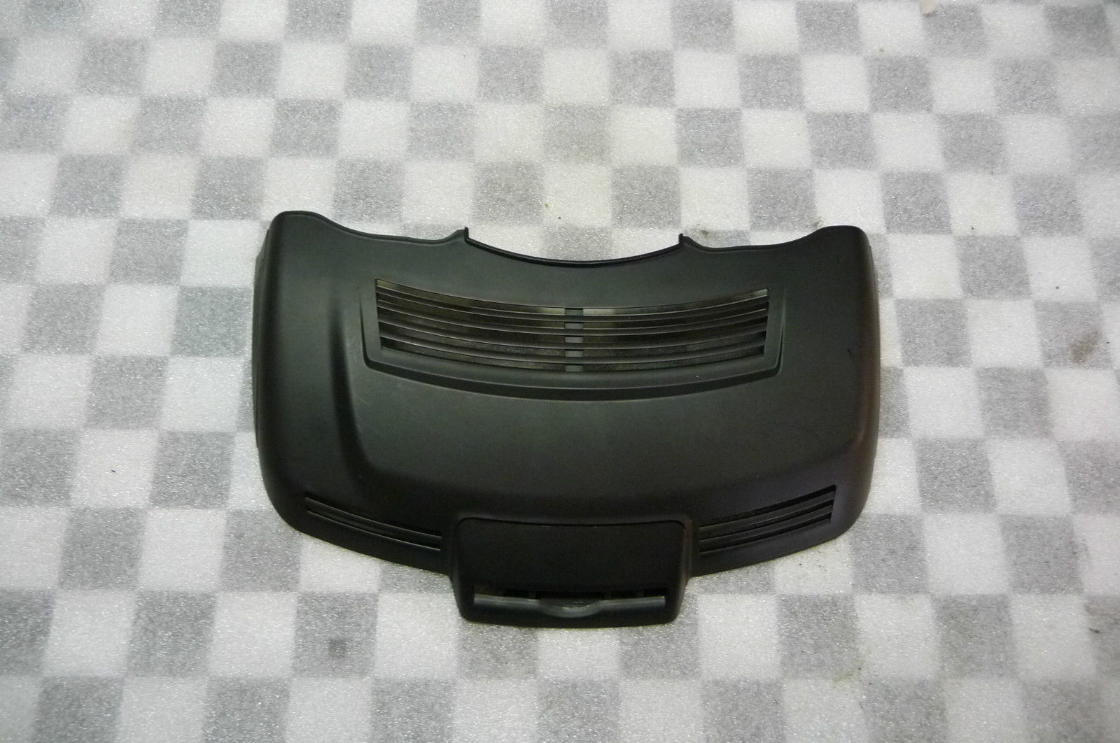 2010 2011 2012 2013 Mercedes Benz W221 S Class S350 S550 S63 AMG Rain Sensor Cover Sun Visor Black 2218211736 OEM OE
