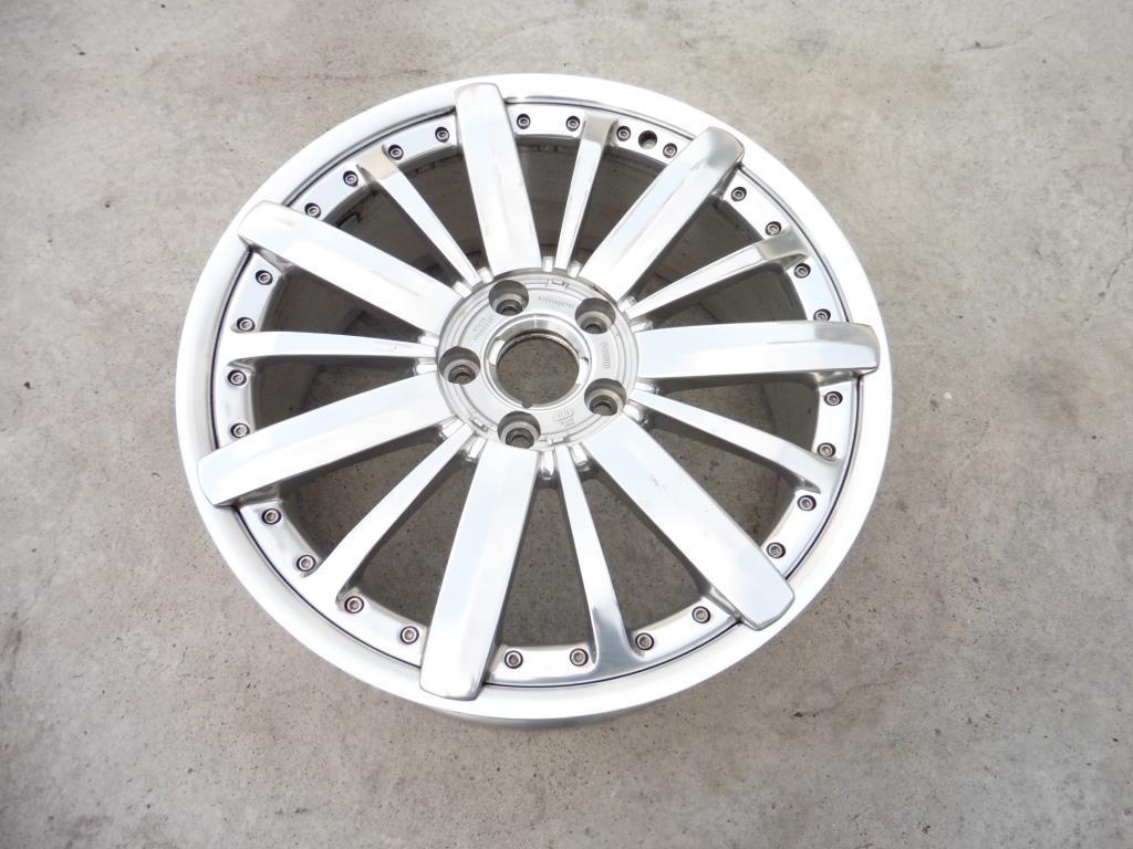 2012 2013 2014 2015 2016 Bentley Mulsanne 21'' Aluminum Wheel Rim 3Y0601025; 9JX21H2ET61 OEM OE