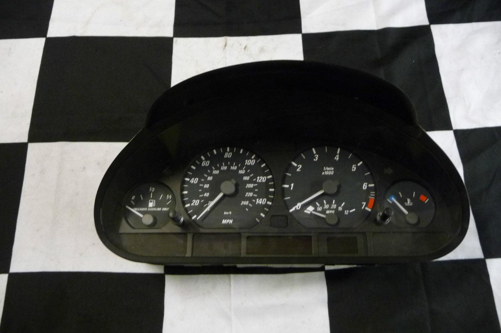 2000 2001 2002 2003 2004 2005 2006 BMW E46 323Ci 325Ci 328Ci Instruments Cluster Combination MPH 62116932927 OEM OE