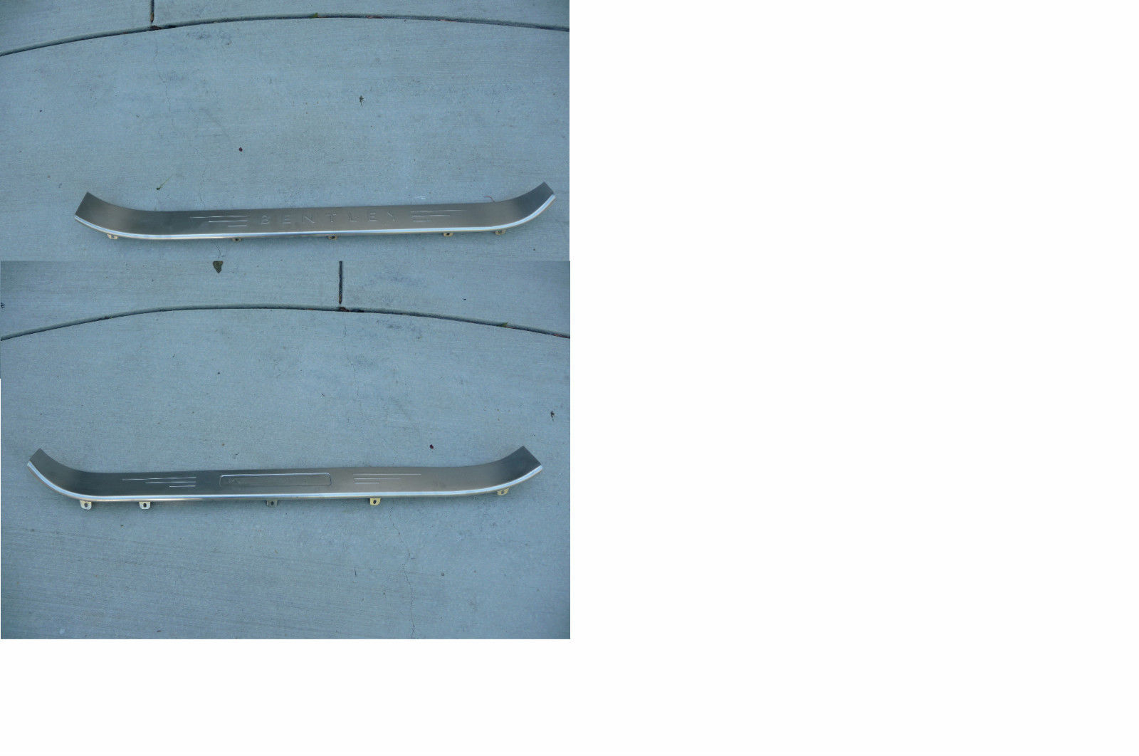 Bentley Continental GTC Convertable Left Right Treadplate Kickplate Footboard - Used Auto Parts Store | LA Global Parts