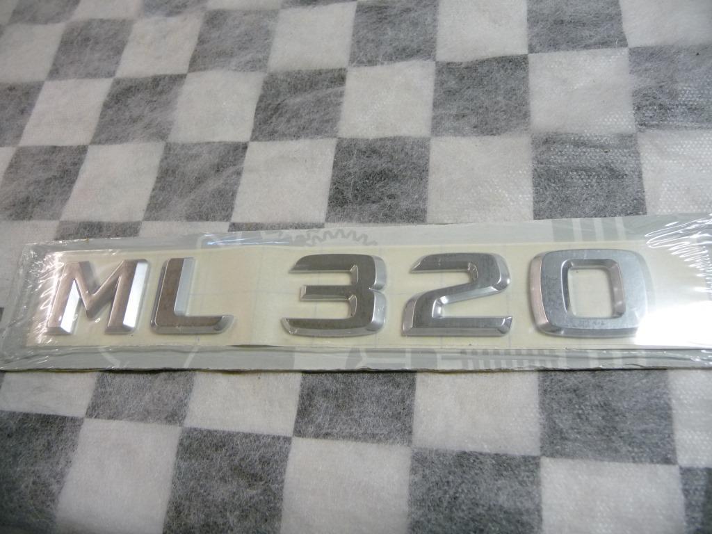 Mercedes Benz ML320 Liftgate Hatch Emblem Badge Nameplate A1638170915 OEM A1