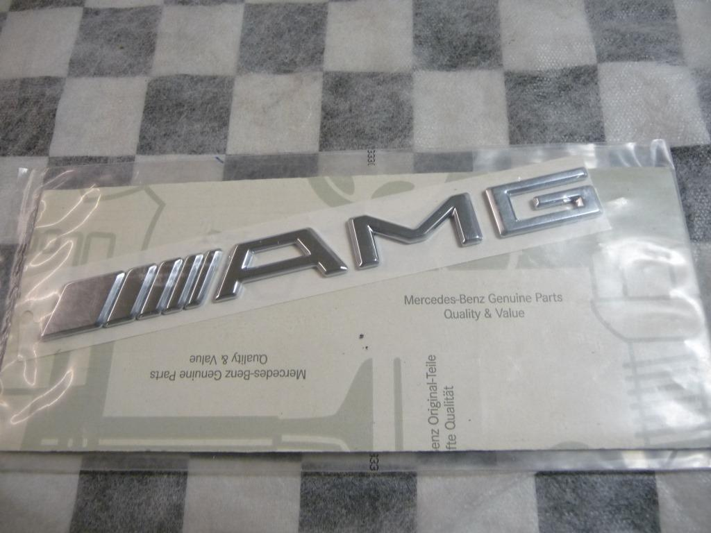 Mercedes Benz AMG Rear Trunk Lid Emblem Nameplate A2208170815 OEM A1
