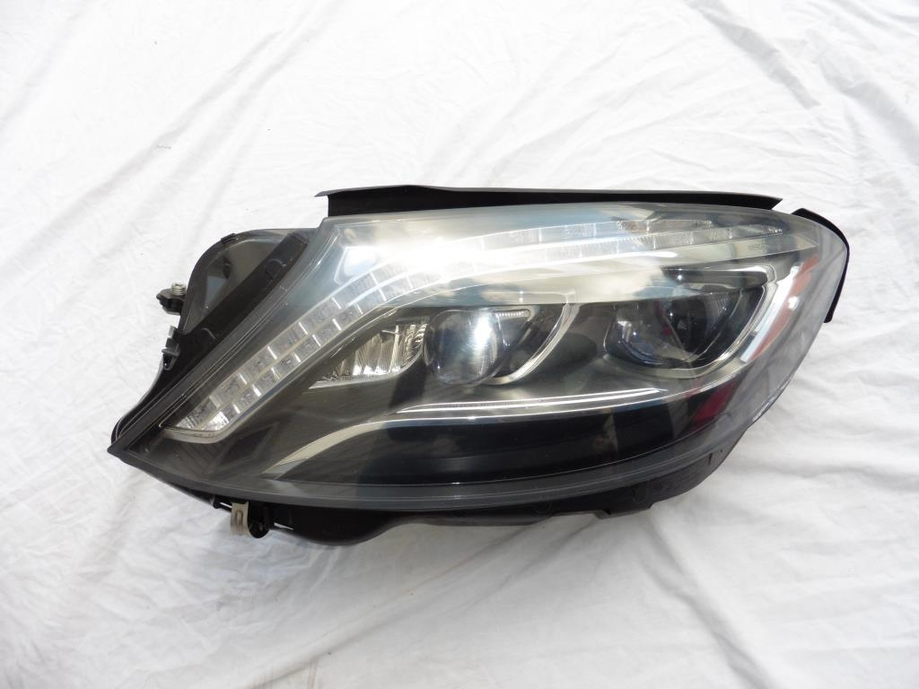 Mercedes Benz S Class W222 Left Driver side LED Headlight Lamp 2229061102 OEM OE