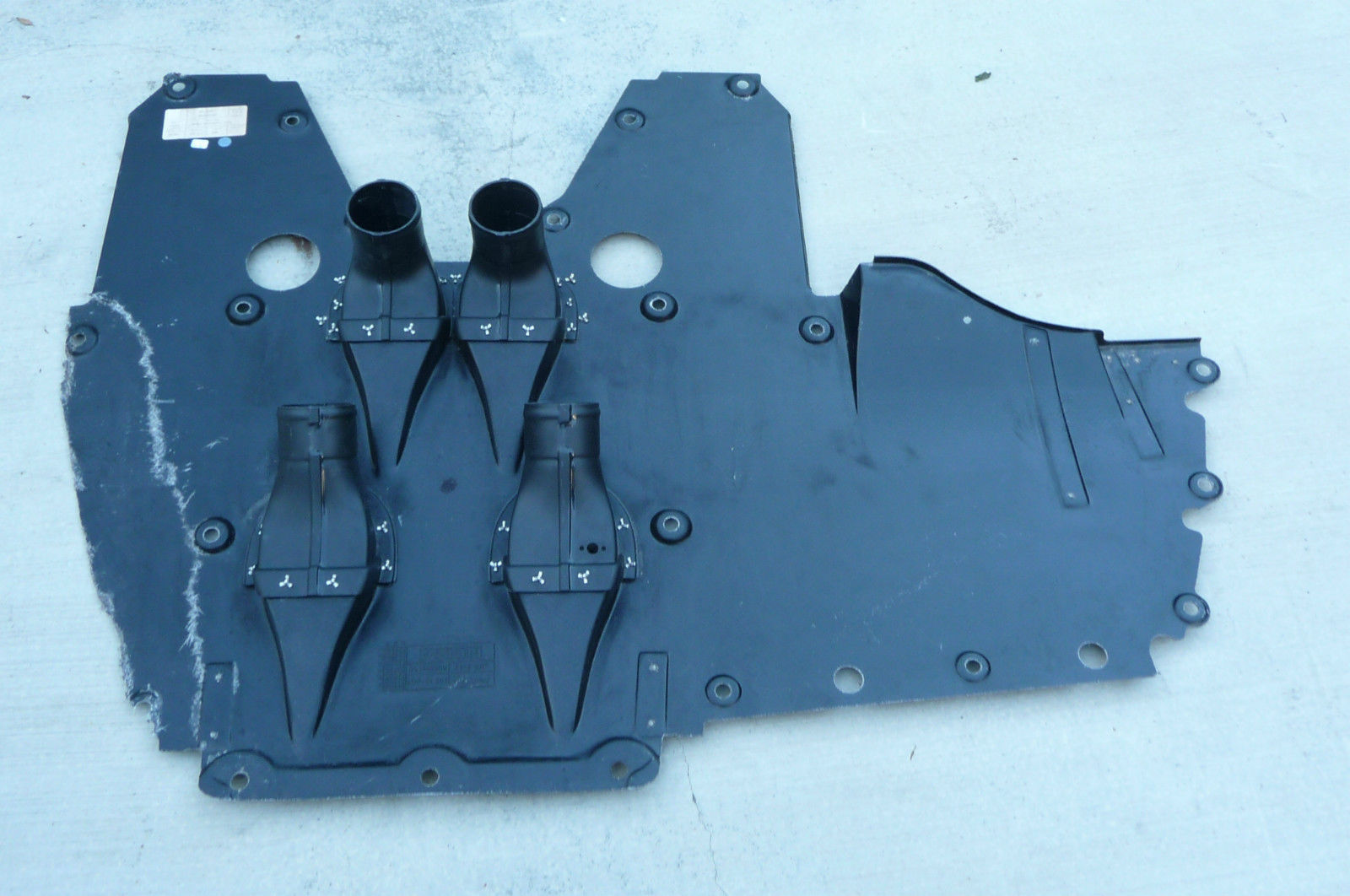 Ferrari 458 Front Center underbody shield 83799900, 84154500, Fragment  - Used Auto Parts Store | LA Global Parts