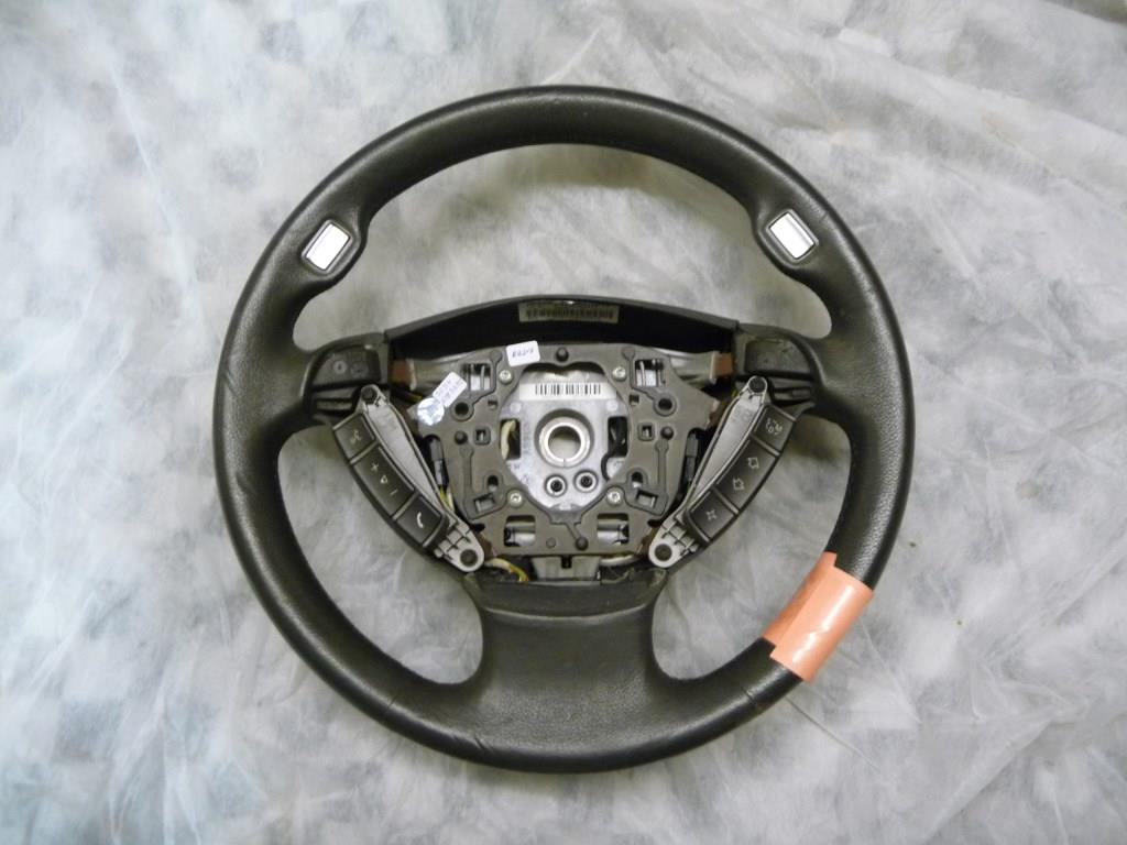 2002 2003 2004 2005 2006 2007 2008 BMW E65 E66 745i 750i 760i Leather Steering Wheel 32346783492 OEM A1