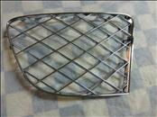 Bentley Continental GT GTC Front Bumper Left Grille Chrome 3W3807683 OEM