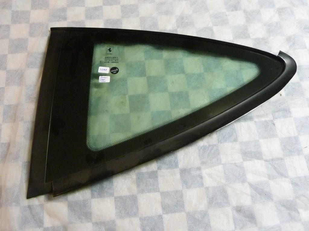 2000 2001 2002 2003 2004 2005 2006 2007 2008 2009 Ferrari 360 Modena 430 F430 Rear Left Driver Side Glass 64019000 OEM OE