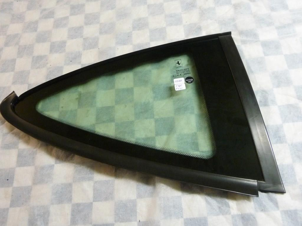 2000 2001 2002 2003 2004 2005 2006 2007 2008 2009 Ferrari 360 Modena 430 F430 Rear Right Passenger Side Glass 64018900 OEM OE