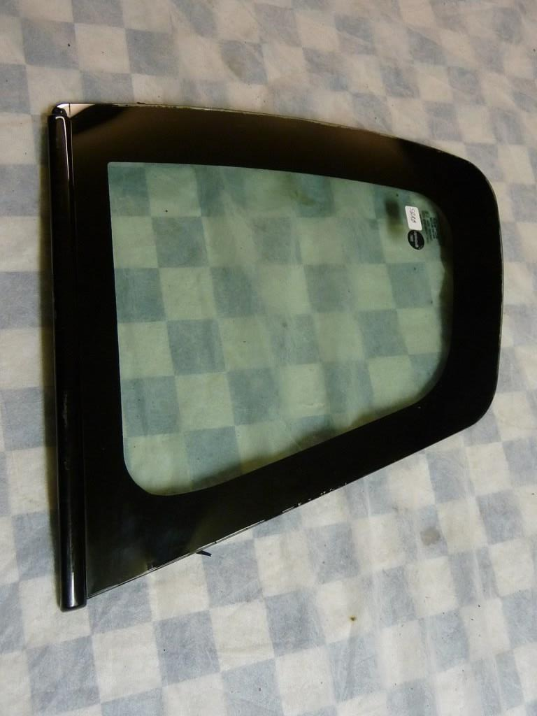 Lamborghini Murcielago Fixed Rear Left Windows Glass 418845299 Molding 418845149