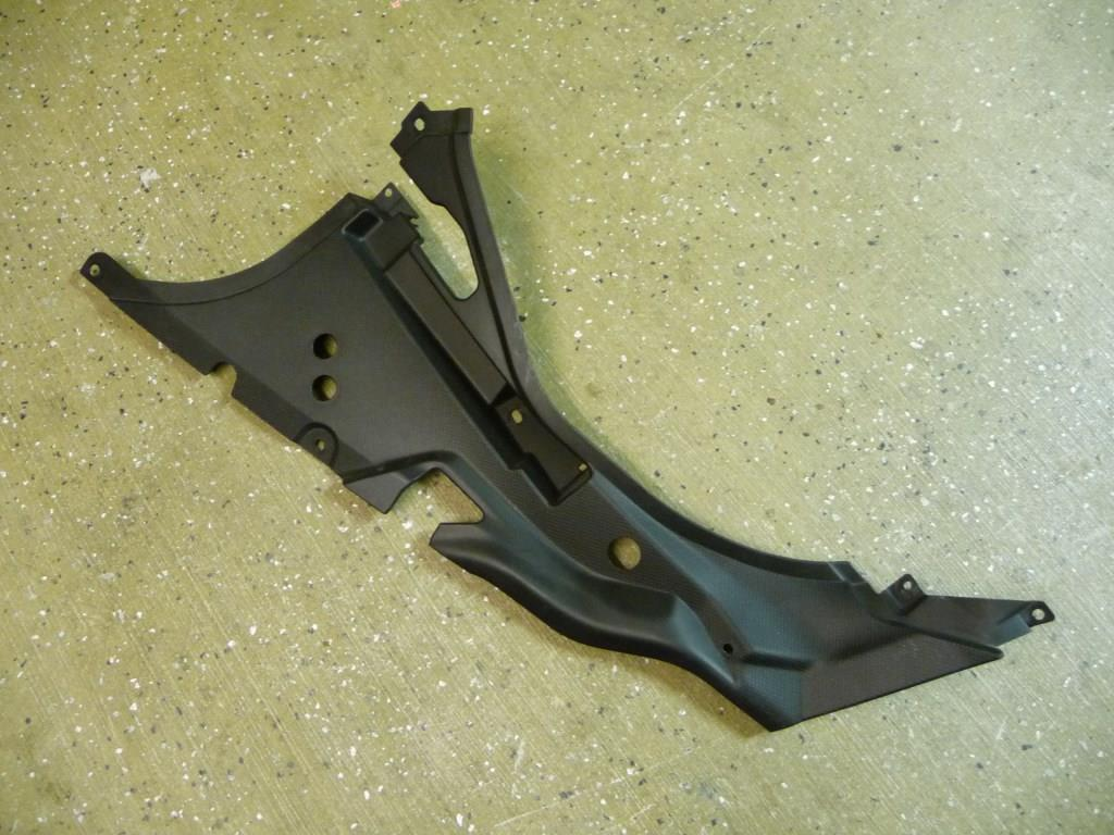 Lamborghini Aventador LP700-4 Coupe Front Trunk Inner Cover 470857110B OEM A1