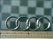 Audi A3 A4 S4 Rear Trunk Lid Emblem Logo Badge Sign Rings 8E9853742 OEM A1