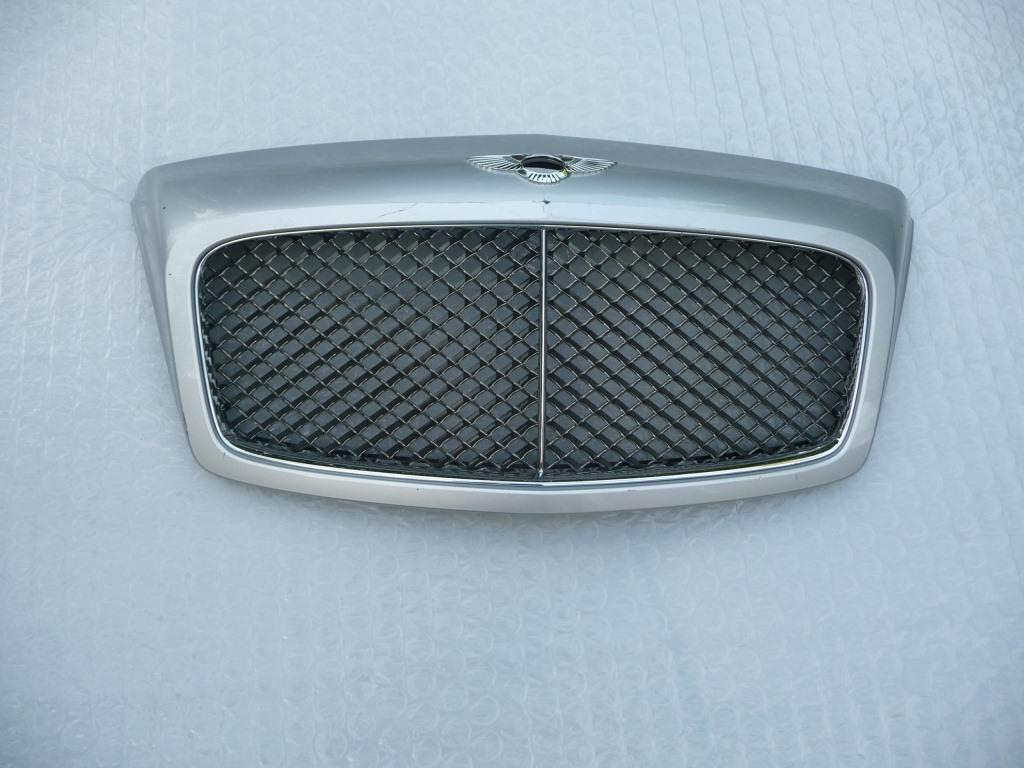 Bentley Continental GT GTC Flying Spur Front Radiator Grille 3W0853660 OEM