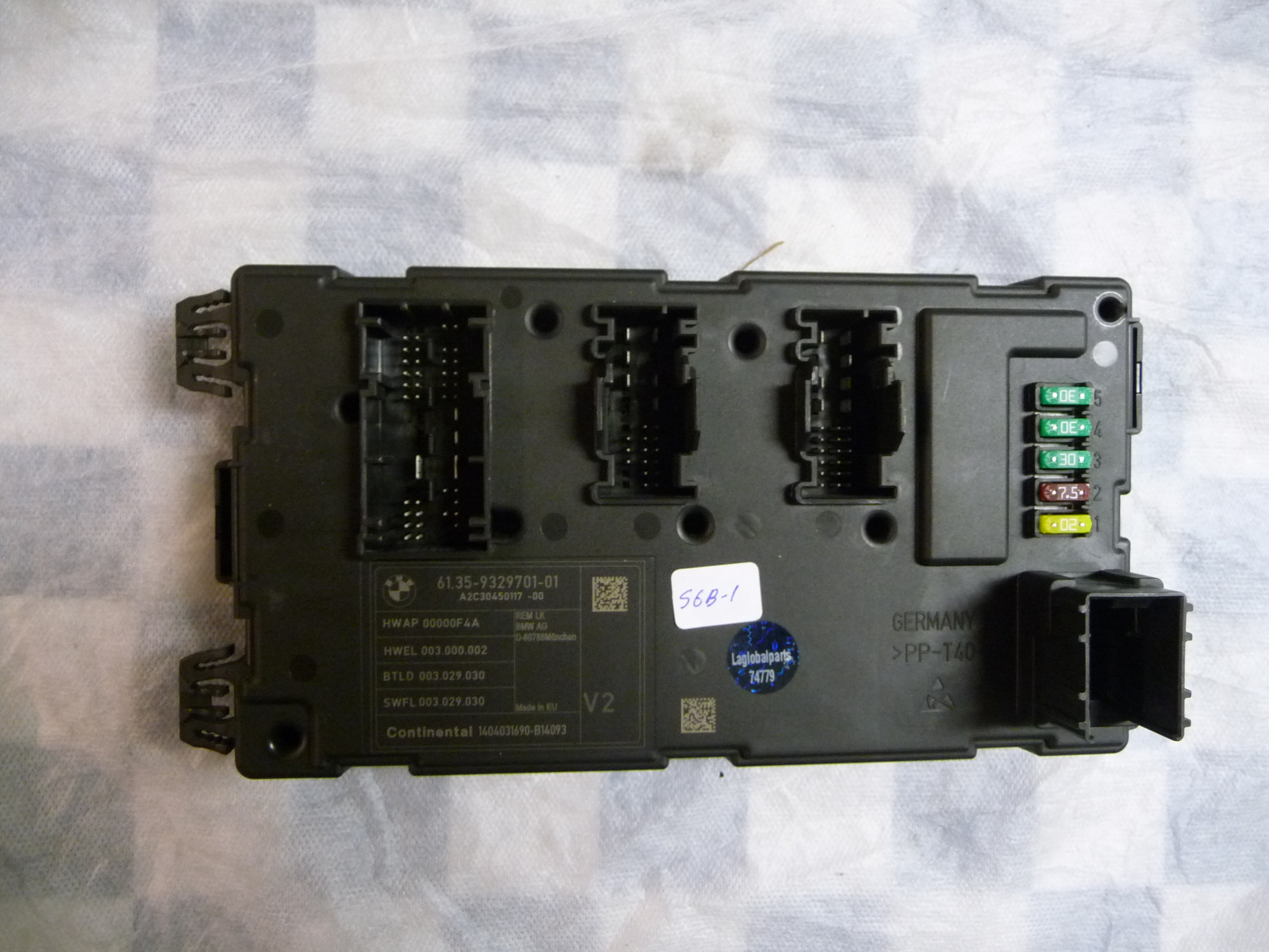BMW 3 4 Series Rear Electronic Module Control Unit 61356819332 OEM A1